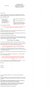 Sales letter for mortgage + secured loans